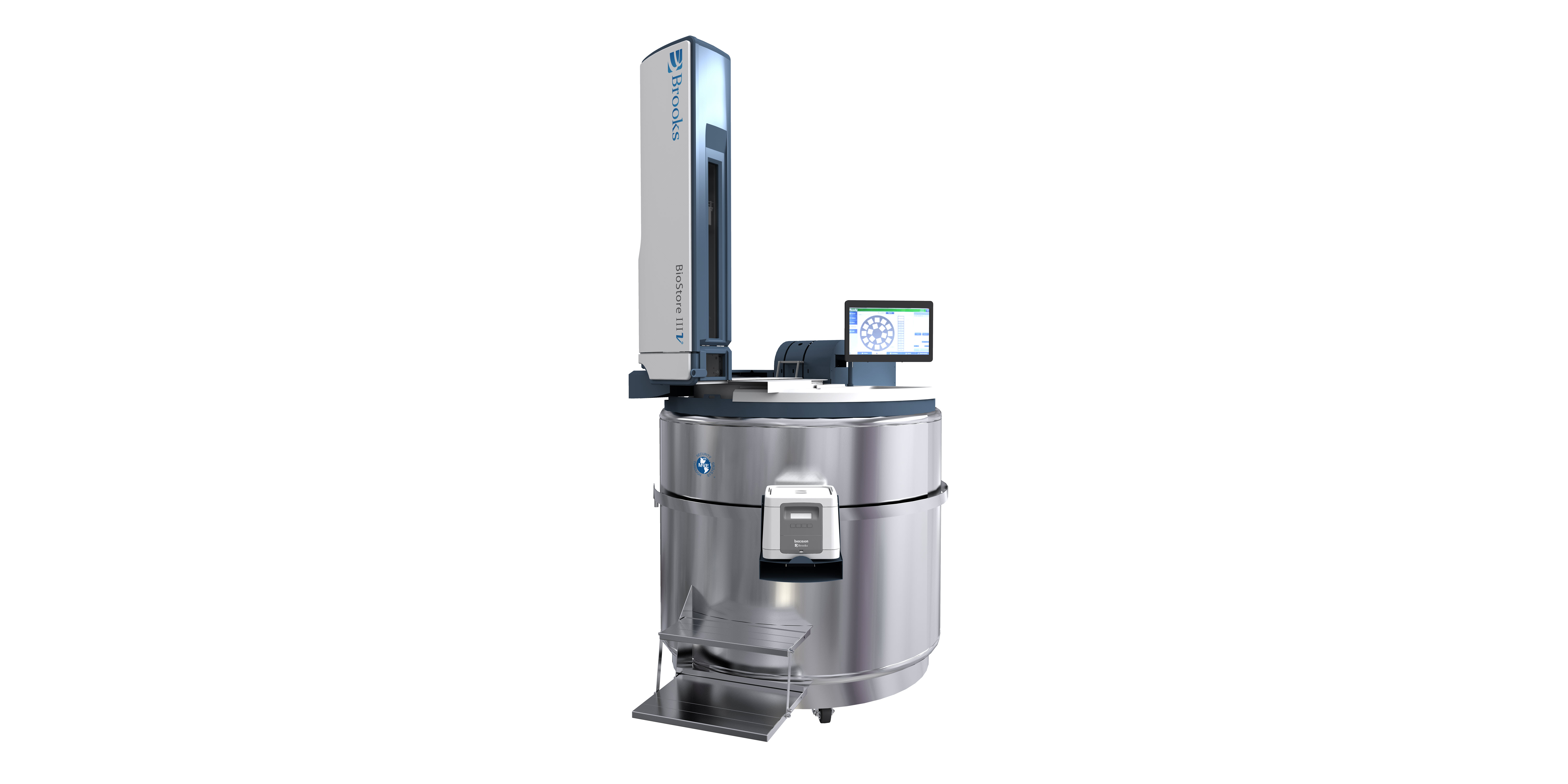 First -80°C Liquid Nitrogen-Based, Automated Storage System to Offer Inventory Control and Reporting Capabilities