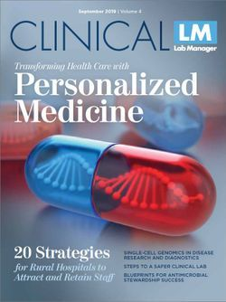 Transforming Health Care with Personalized Medicine